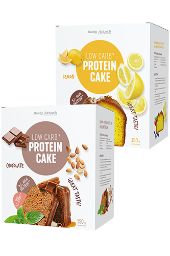 Body Attack Low-Carb*-Protein-Cake - 150g
