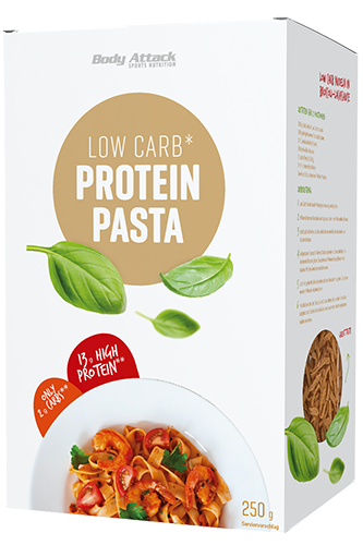 Body Attack Low-Carb*-Protein-Pasta - 250g