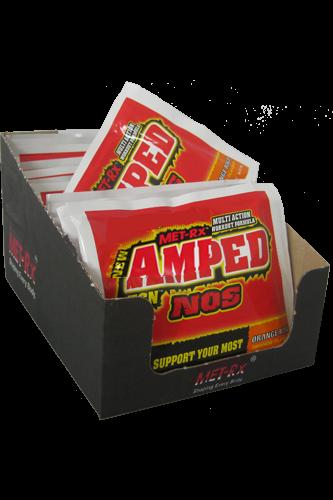 MET-Rx Amped ECN NOS Box 20x 40g