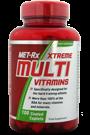MET-Rx Xtreme Multi Vitamins 100 Tabs