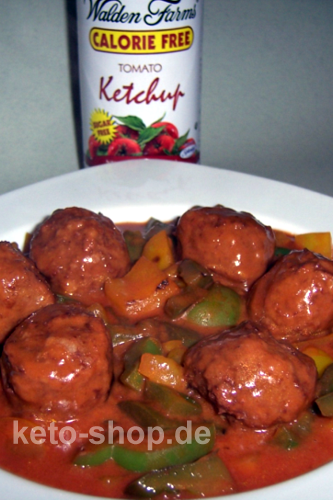 Fitness-Rezept - Meatballs auf Paprika-Tomaten Sauce