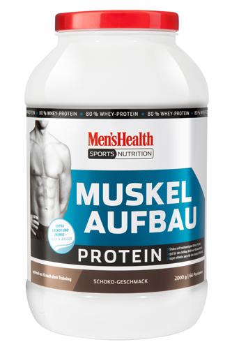 Men´s Health Muskelaufbau Protein - 2000g Restposten