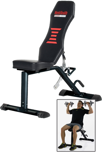 Men�s Health POWERTOOLS SPARKS EXERCISE BENCH