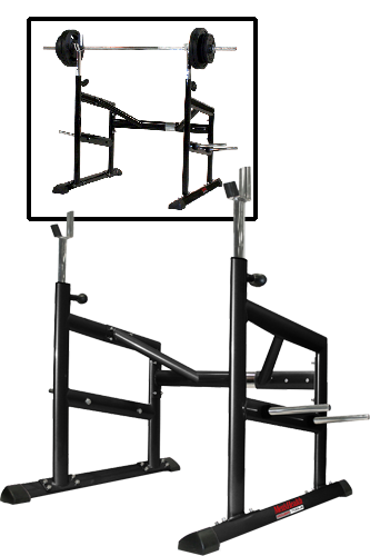 Men´s Health SPARKS RACK mit Super Weights