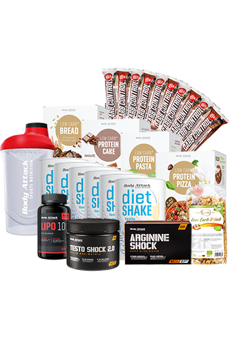 Men�s-Start-up-Di�t-Paket f�r 20 Tage