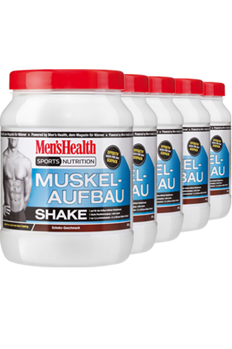 Men�s Health Muskelaufbau Shake