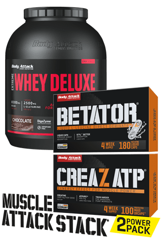 Body Attack Muskelaufbau Paket - Pro