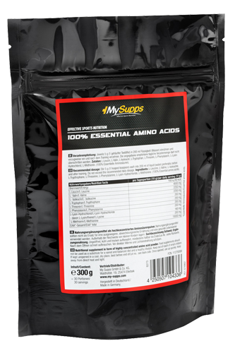 My Supps 100% Essential Amino Acids - 300g