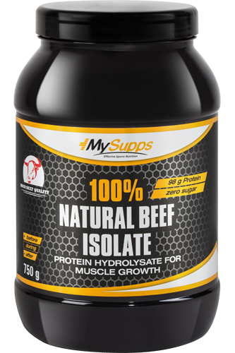 My Supps 100% Natural Beef Isolate - 750g Restposten