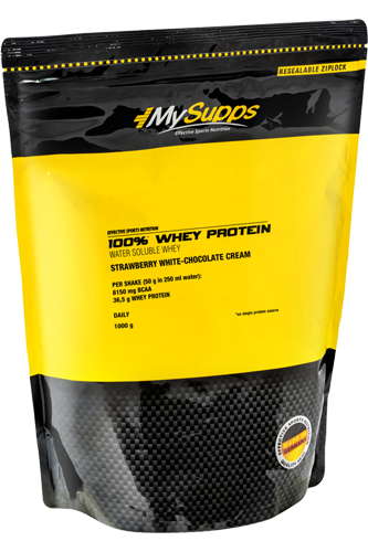 My Supps 100% Whey Protein - 1kg Restposten