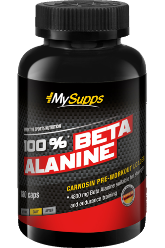 My Supps 100% Beta Alanine - 180 Caps