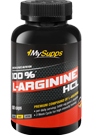 My Supps 100% L-Arginine HCL - 180 Caps