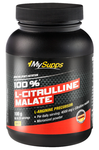My Supps 100% L-Citrulline Malate - 100g