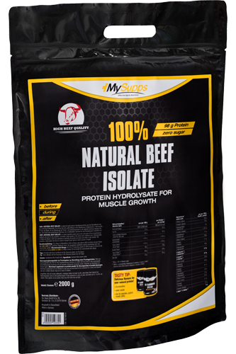 My Supps 100% Natural Beef Isolate - 2kg