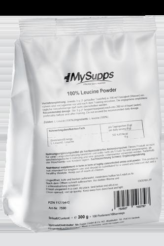 My Supps 100% Leucine Powder - 300g