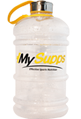 My Supps Water Bottle XXL Gelb - 2,2l