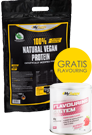 My Supps 100% Natural Vegan Protein 2 kg+ Flavouring 90g