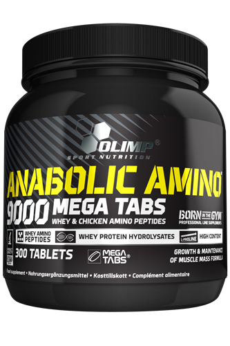 Olimp Amino 9000 Mega Tabs - 300 Tablets