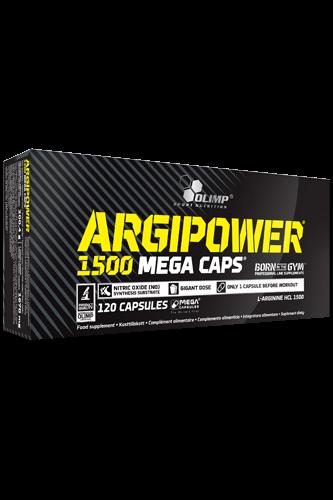 Olimp Argi Power 1500 Mega Caps - 120 Caps Restposten