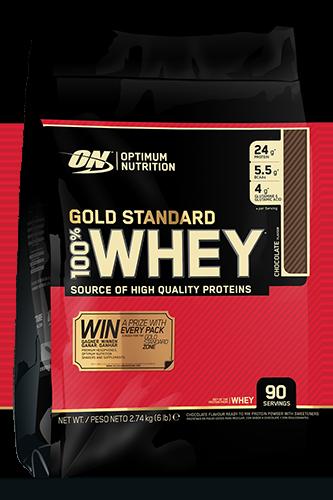 Optimum Nutrition Gold 100% Whey - 2740g