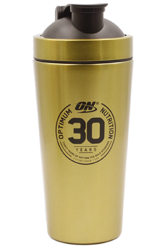 Optimum Nutrition Shaker 30 Years 500ml - gold