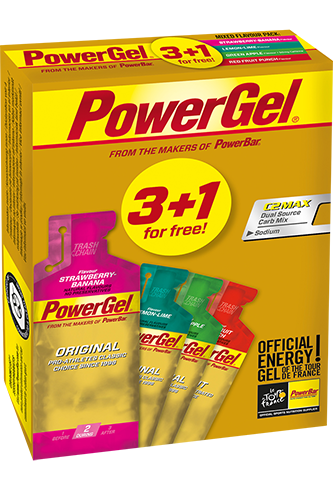 PowerBar Powergel Multipack 3+1 - 164g