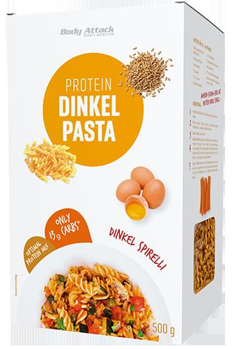 Body Attack Protein Dinkel Pasta - Spirelli 500g