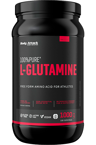 Body Attack 100% Pure L-Glutamic acid - 1kg