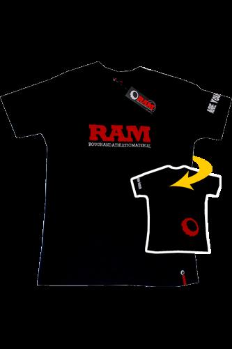 RAM T-Shirt Applique black