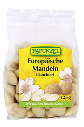 Rapunzel Mandeln blanchiert - 125g