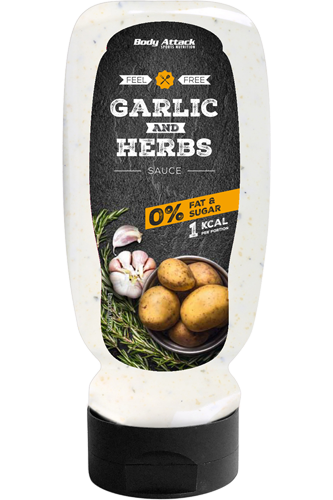 Body Attack Garlic & Herbs Sauce - 320ml