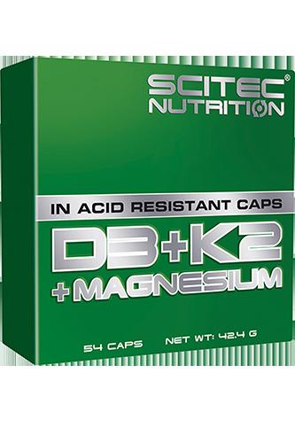 Scitec Nutrition D3+K2+Magnesium - 54 Caps
