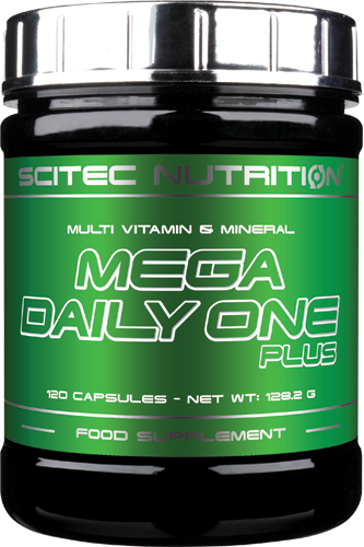 Scitec Nutrition Mega Daily One Plus - 120 Caps