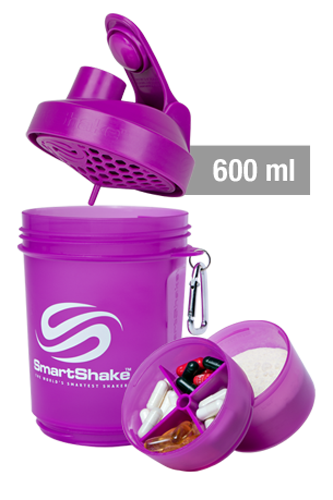 SmartShake Original Series - 600ml Neon Purple