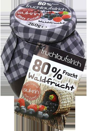 Elito Sukrin Fruchtaufstrich Waldfrucht - 260g
