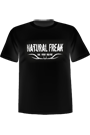T-Shirt Natural Freak� - black
