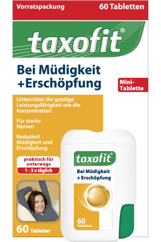 taxofit m digkeit ersch pfung 60 tabletten. Black Bedroom Furniture Sets. Home Design Ideas