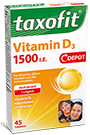 Taxofit Vitamin D3 1200 - 45 Tabletten