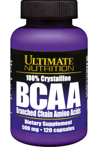 Ultimate Nutrition BCAA 100% Crystaline - 120 Caps