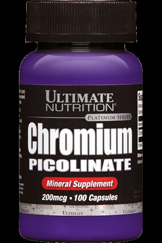 Ultimate Nutrition Chromium Picolinate 100 Caps