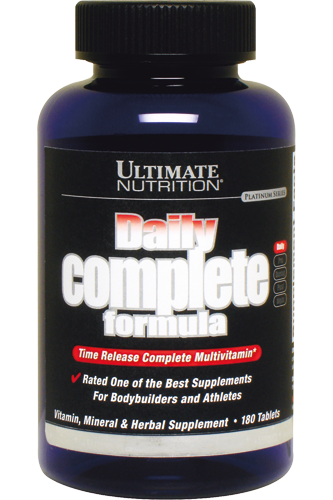Ultimate Nutrition Daily Complete Formula - 180 Tabs