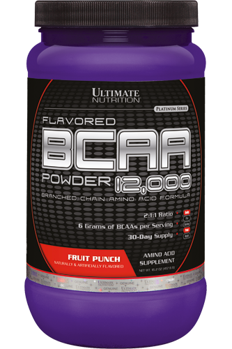 Ultimate Nutrition Flavored BCAA 12000 Powder - 457g