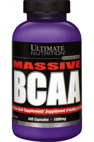 Ultimate Nutrition Massive BCAA 1000mg - 300 Caps