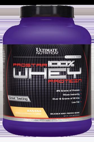 Ultimate Nutrition Prostar Whey - 2390g Restposten Banane