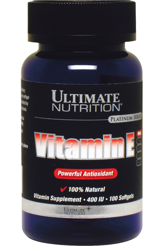 Ultimate Nutrition Vitamin E 100 Softgel Caps