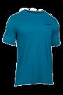 Under Armour T-Shirt Charged Cotton Herren kurz�rmlig - blue