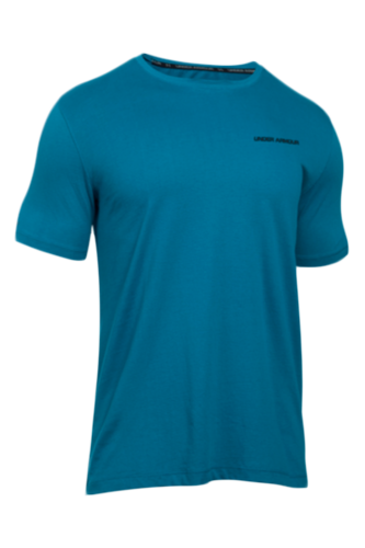 Under Armour T-Shirt Charged Cotton Herren kurz�rmlig - blue