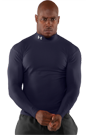 Under Armour Coldgear Compression Mock navy