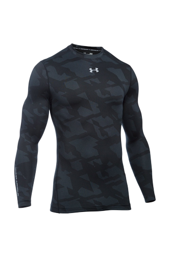 Under Armour Longsleeve Männer Jacquard - black