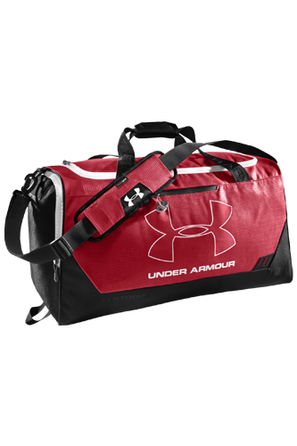 Under Armour MD Hustle Duffel red